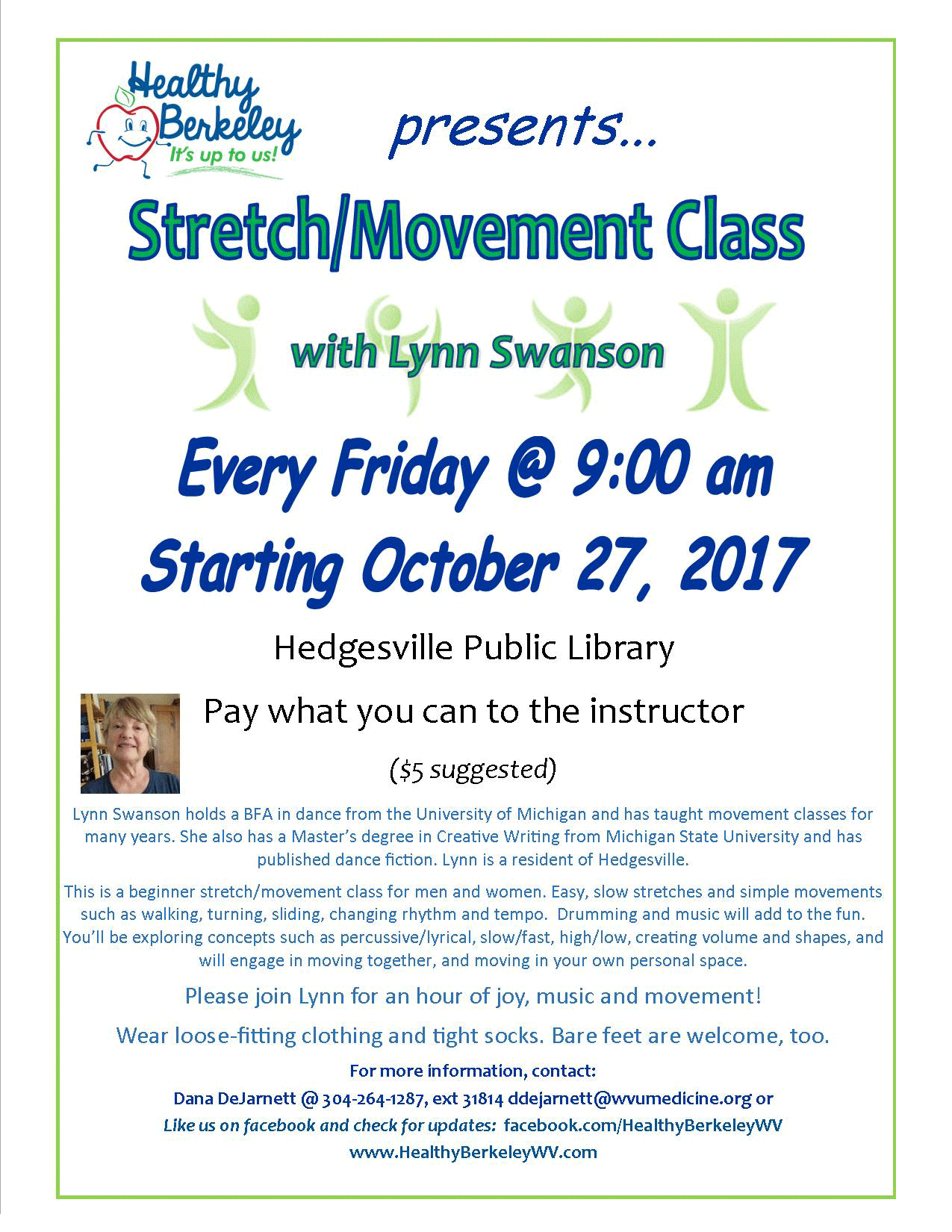Stretch and Movement Class