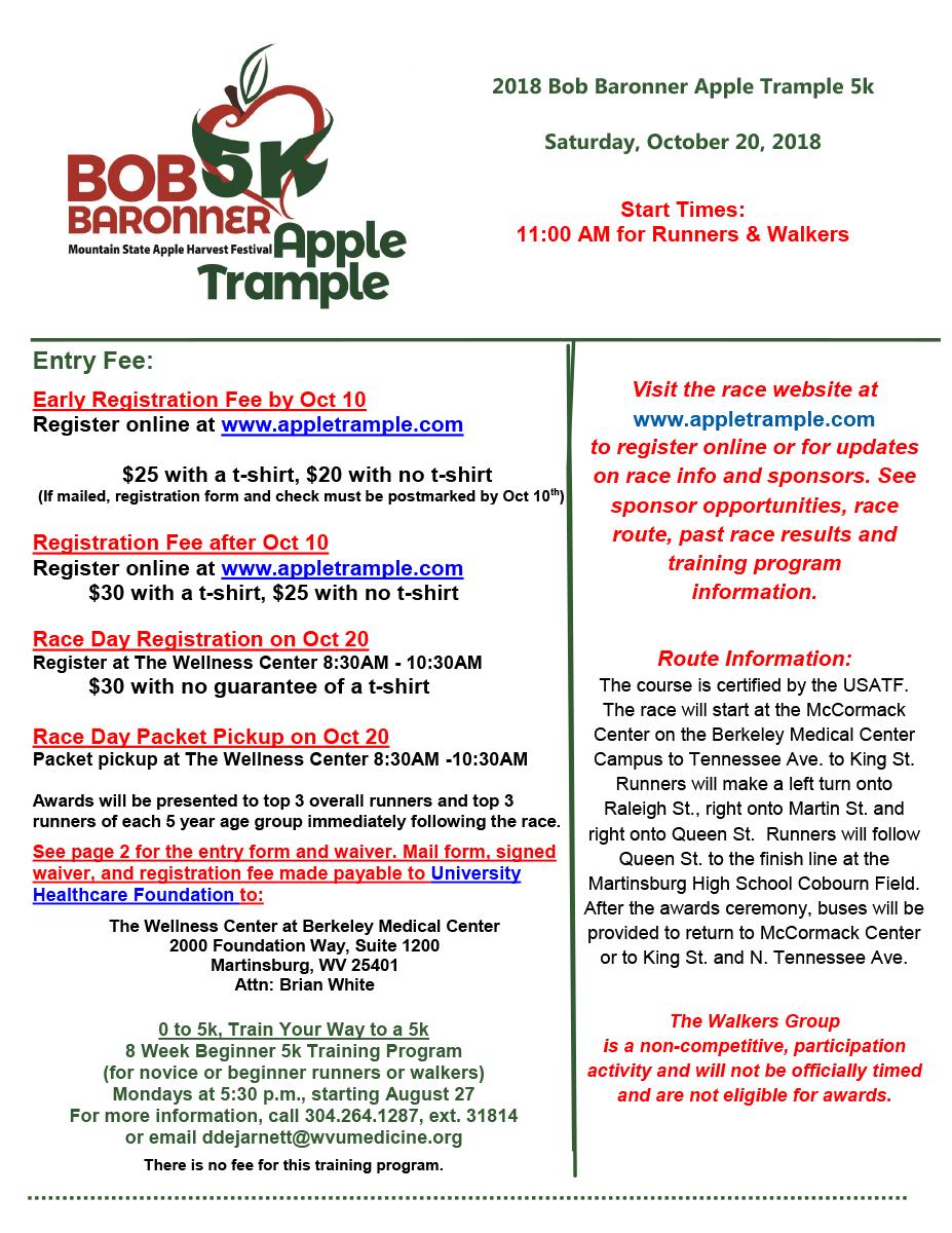 Apple Trample 5K Flyer