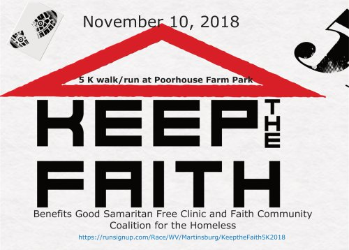 Keep the Faith 5k